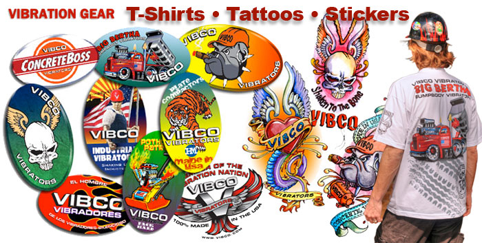 vibco vibrator t shirts stickers and tattoos header image